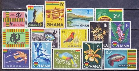 Ghana 1959 №48-62 **MNH