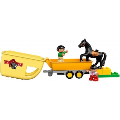 LEGO Duplo: Трейлер для лошадок 10807 — Horse Trailer — Лего Дупло