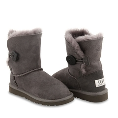 UGG Kids Bailey Button Grey