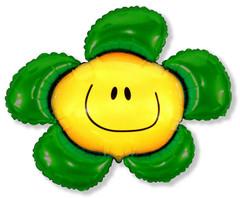F Мини-фигура Цветочек (солнечная улыбка) зеленый, 14