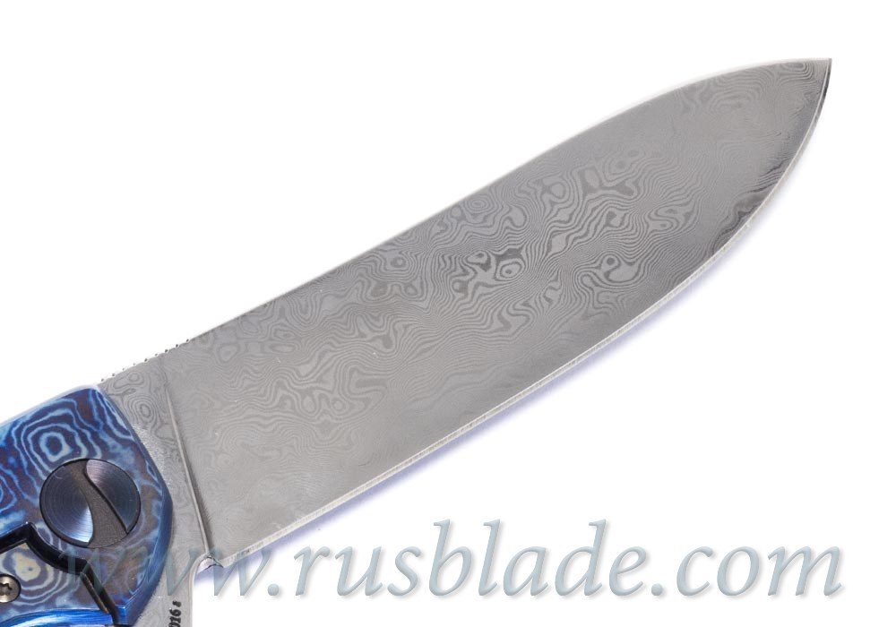 Cheburkov Frieze Damascus Custom Knife - фотография