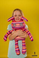 Подушка-игрушка антистресс Gekoko «Инопланетный гость» 1