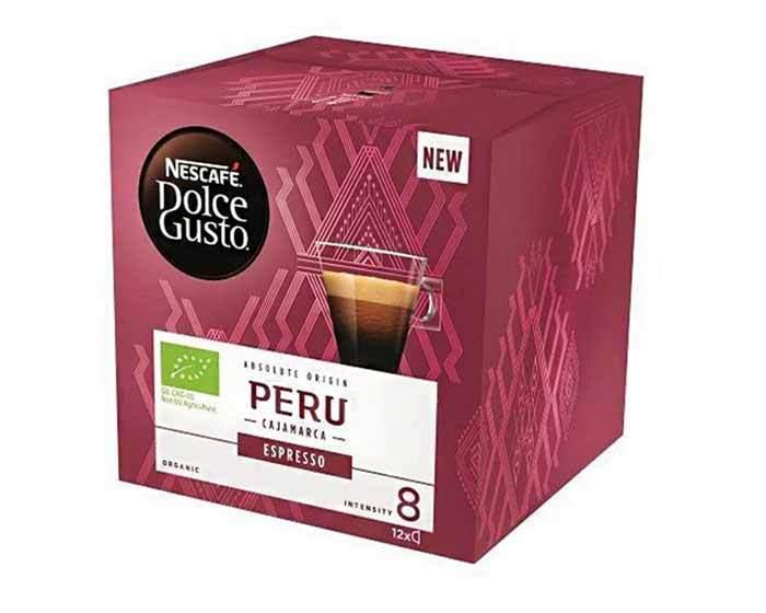 Кофе в капсулах Dolce Gusto Espresso Peru, 12 капсул
