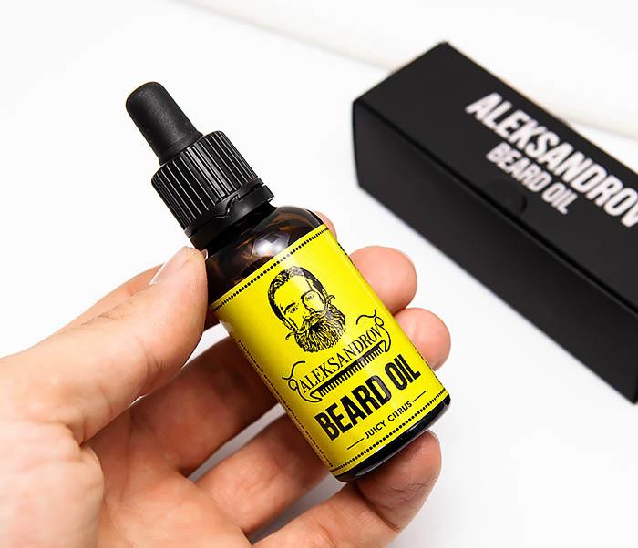 RAZ420-2 Ухаживающее масло для бороды Aleksandrov «Juicy Citrus» (30 мл) фото 04