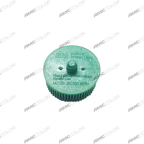 3M Scotch-Brite™ Roloc™ Bristle RD-ZB Круг, P50, зеленый 50 мм, № 07524