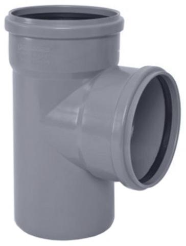 Ostendorf HTEA 110/110 мм 87° тройник канализационный (115400)