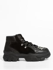 Кожаные ботинки Marzetti 83671 с мехом