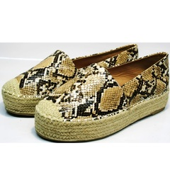 Обувь эспадрильи женские Lily shoes Q38snake.