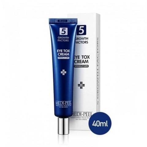 Medi-Peel 5 Growth Factors Eye Tox Cream омолаживающий крем для глаз с комплексом пептидов