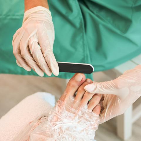 Набір рукавичок для манікюру 10 шт. + Набір шкарпеток для педикюру 10 шт. (3)