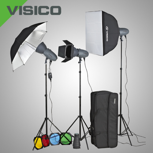 Комплект студийного света Visico VT-300 Unique Kit