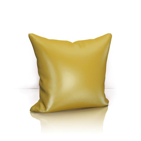 Подушка декоративная Авери горчичный