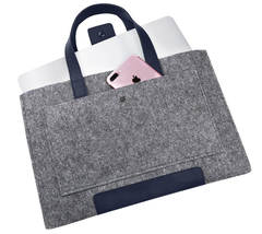 Войлочная сумка Gmakin для Macbook Air/Pro 13.3 Серая