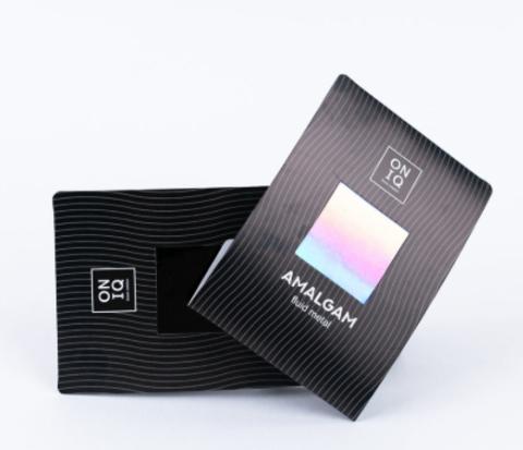 ONF-003 Фольга для дизайна ногтей. AMALGAM Fluid metal: Holographic Nail Foil
