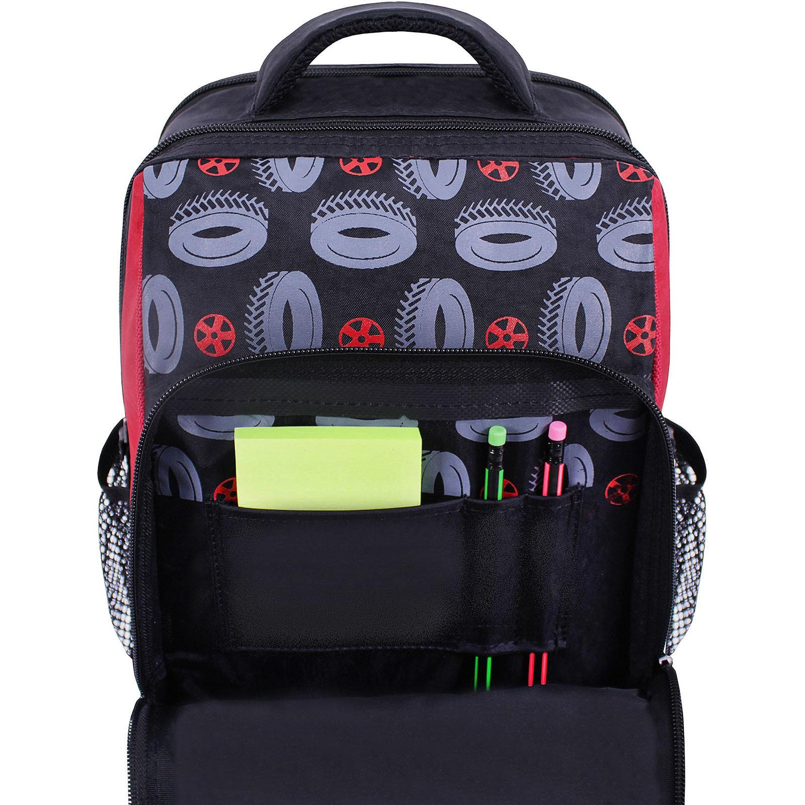 Рюкзак школьный Bagland Школьник 8 л. черный 568 (00112702) фото 3