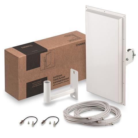 Комплект Kroks для усиления 3G/4G сигнала KSS18-3G/4G MIMO