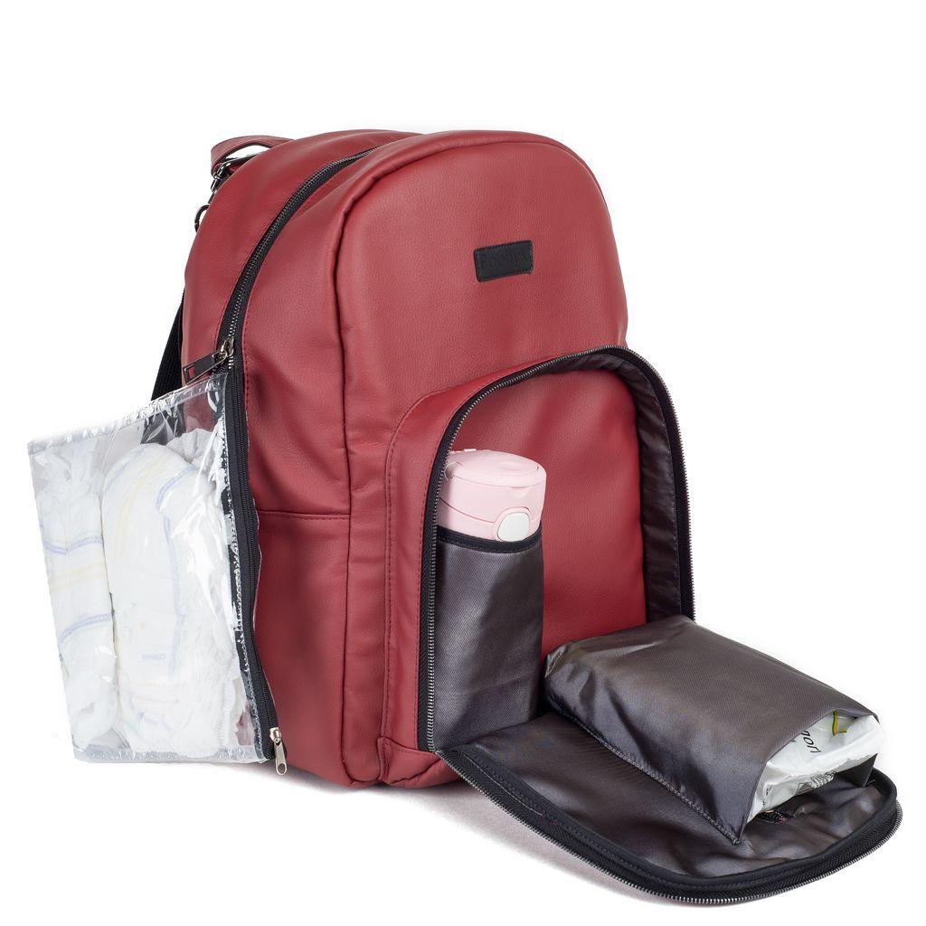 Рюкзак для мамы Chic Bordo
