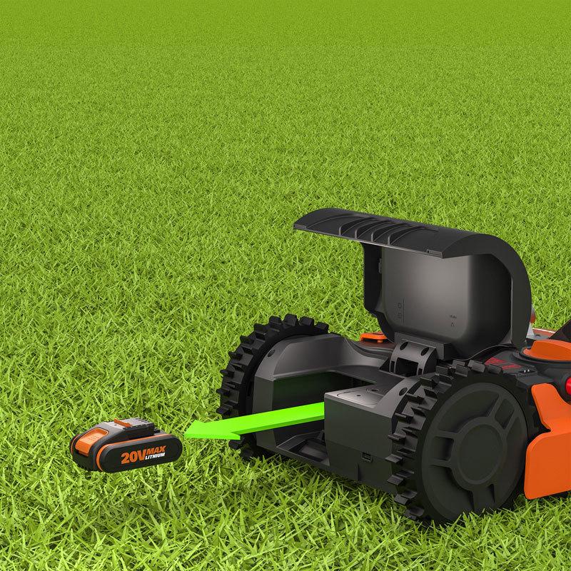 Роботизированная газонокосилка Worx Landroid M WR143E 1000м²
