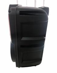 Беспроводная колонка KIMISO колонка QS-4801 с пультом и микрофоном, черный