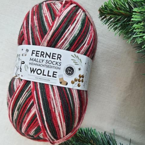 Ferner Wolle Mally Socks Weihnachts 21 купить
