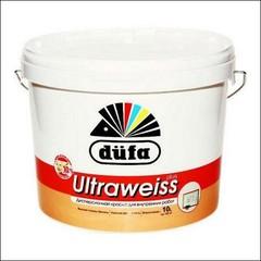 Краска в/д для интерьера DUFA RETAIL ULTRAWEISS PLUS глубокоматовая (Белый)