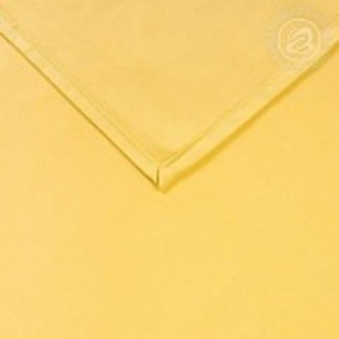 Простыни Сатин Желтый