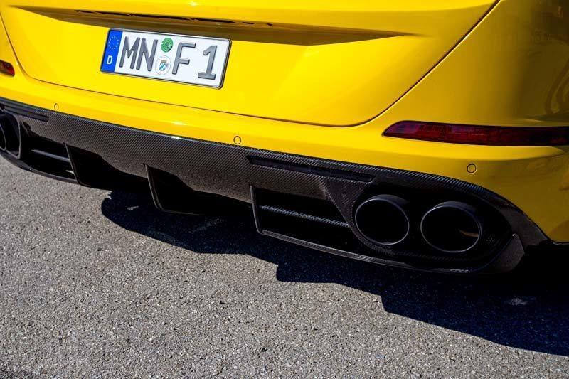 Карбоновые диффузор заднего бампера Novitec Style для Ferrari California