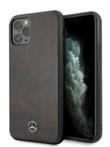 Mercedes / чехол для телефона iPhone 11 Pro | Wood Hard Rosewood Brown