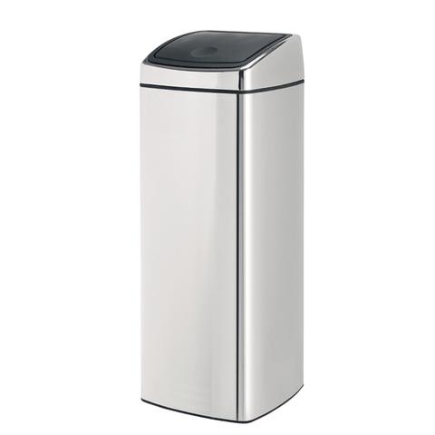 Прямоугольный мусорный бак Touch Bin (25 л), артикул 384905, производитель - Brabantia