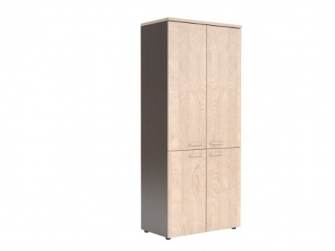 XHC 85.3 Шкаф с глухими средними и малыми дверьми (850х410х1930)