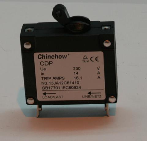 Выключатель автоматический DDE 14A, 1Ф DPG4851