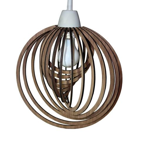 Люстра из дерева, потолочная светильник деревянный подвесной LuminosoConcetto