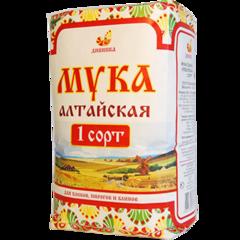 Мука пшеничная, Дивинка, Алтайская, сорт 1, хлебопекарная, 4,1 кг