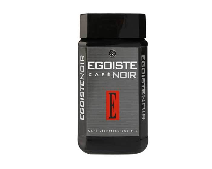 Кофе растворимый Egoiste Noir, 100 г стеклянная банка