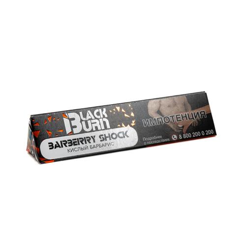 Табак Burn BLACK 25 г Barberry Shock