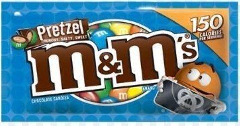 Шоколадное драже M&M's Pretzel с крендельками 32.3 гр