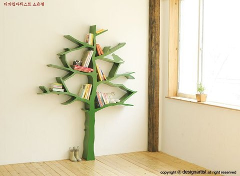 консоль Green Tree bookshelf