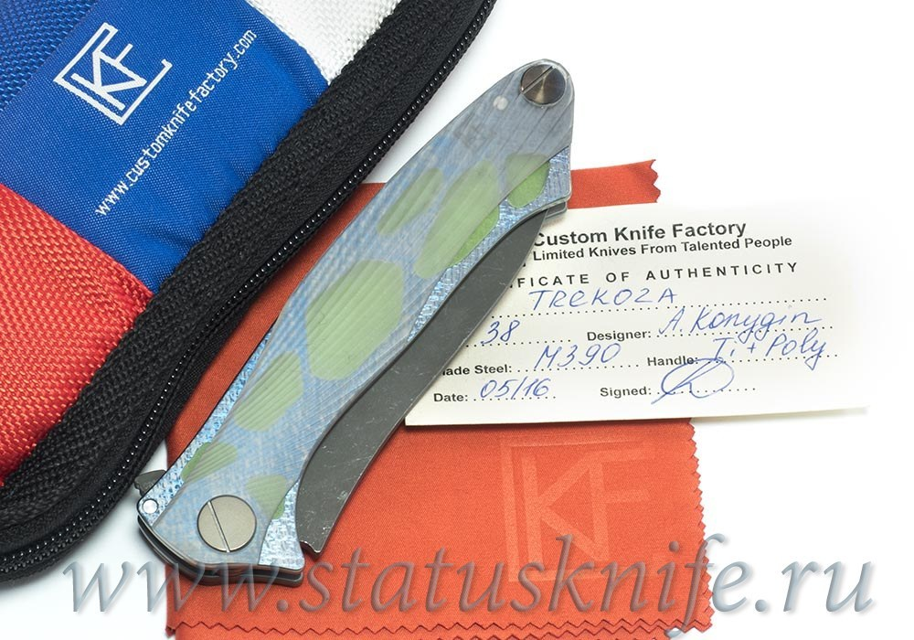 Нож CKF Трекоза CUSTOM Raskind Regrind