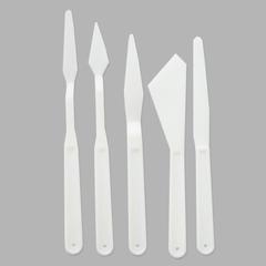 Мастихин пластиковый, набор 5 шт.