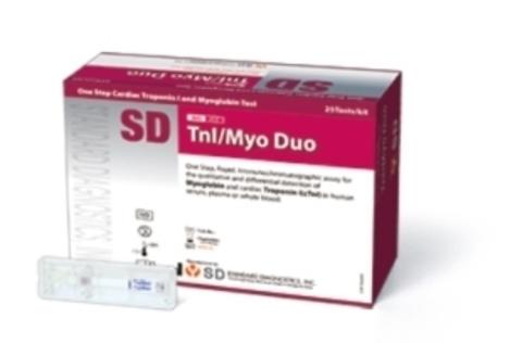 21FK10 Карцино-эмбриональный антиген (SD BIOLINE TnI/Myo Duo) 30 тестов Standard Diagnostics, Inc., Корея
