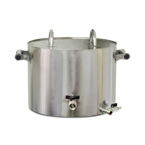 Сыроварня Маджио 30 литров, модель Hobby: нагрев на плите или встроенным нагревателем