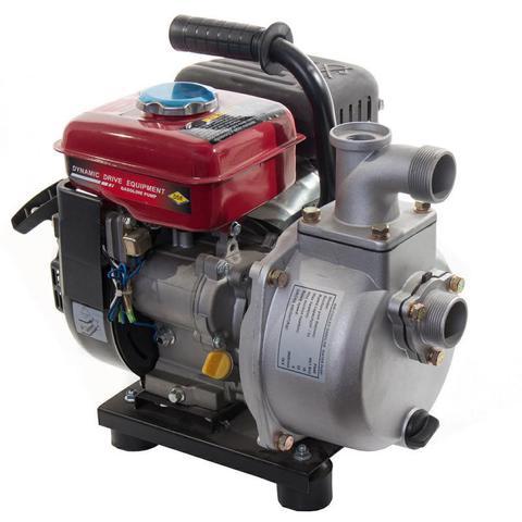 Мотопомпа бензиновая DDE PN40 (выход 40мм, 2.4л.c., напор 22м, 18куб.м/час, бак 1.6л, 19.5кг) (PN40), шт
