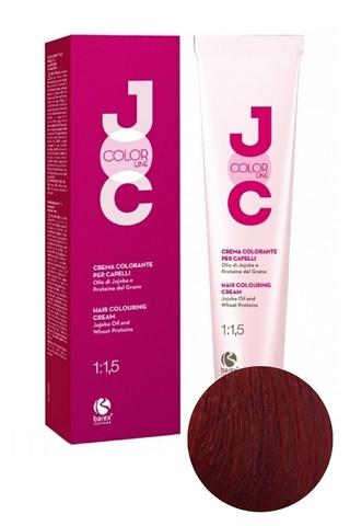 Крем-краска для волос 6.6 темный блондин красный JOC COLOR, Barex