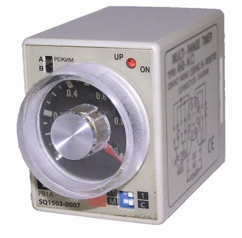 Реле времени РВ1C-2реж-6сек/60мин-5А-220В-8Ц TDM