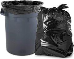 Мешки для контейнера 300л 100х140 (40) Универсальные мусорные (черный)