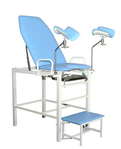 Кресло гинекологическое-урологическое «Клер» с фиксированной высотой модель КГФВ 02в со встроенной ступенькой. - фото