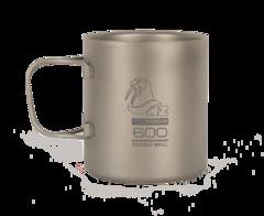 Титановая кружка Novaya Zemlya Ti Double Wall Mug 0,6 л TMDW600FH