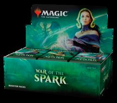 Дисплей бустеров выпуска «War Of The Spark» (английский)