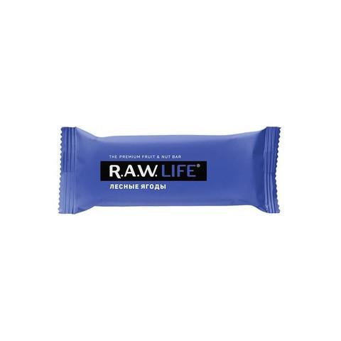 R.A.W Life орехово-фруктовый батончик Лесные ягоды 47 гр
