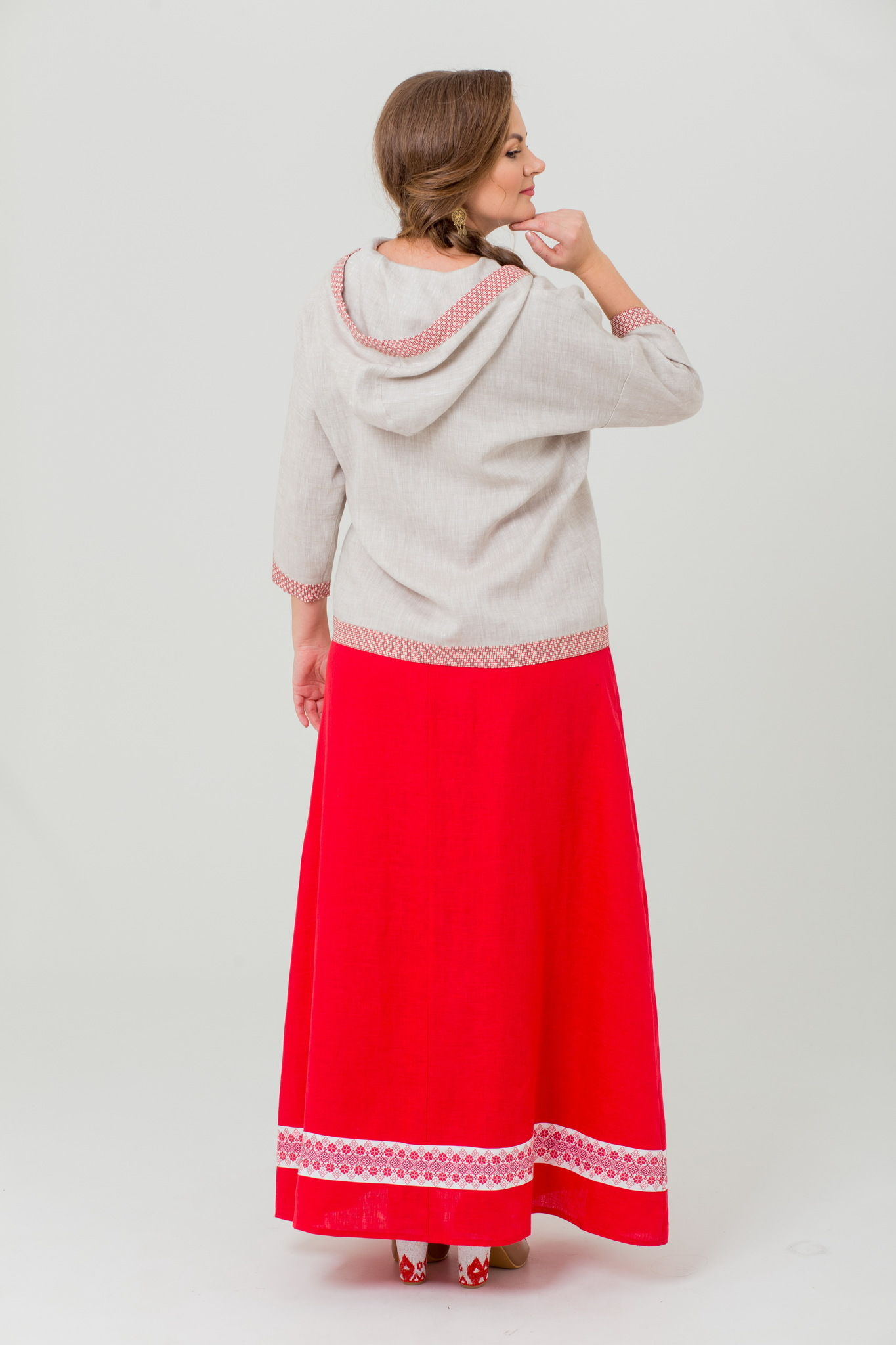 Блуза славянская Ася